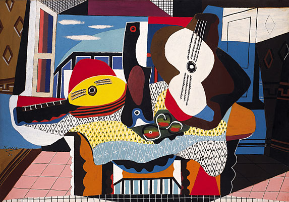Picasso_Mandolin-and-Guitar